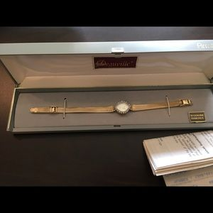 Vintage Deauville Armstrong diamonds watch